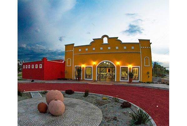 Teotihuacán. Hotel-hacienda-teoticamp