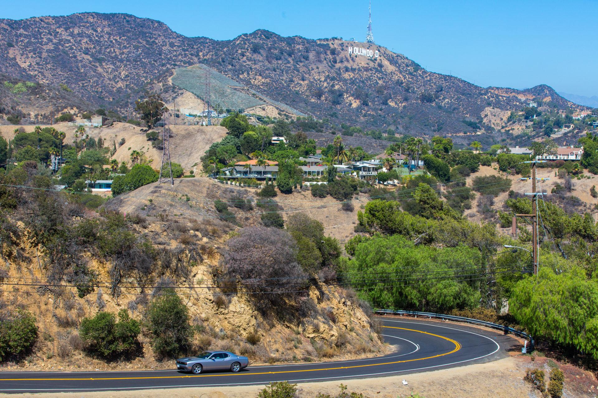 Hollywood Mulholland drive