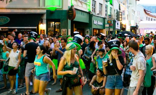 Guinness Fest - Fiesta de la cerveza - Dublin - Irlanda