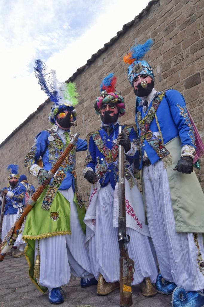 Turcos, Primer barrio. Carnavales de México
