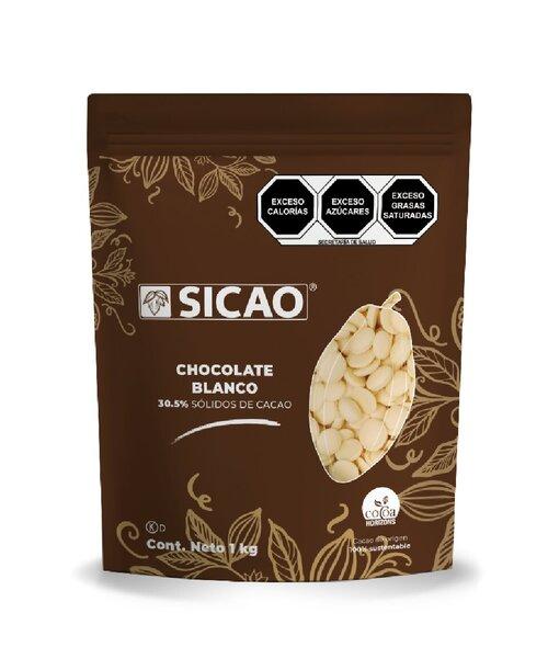 Chocolate blanco sicao