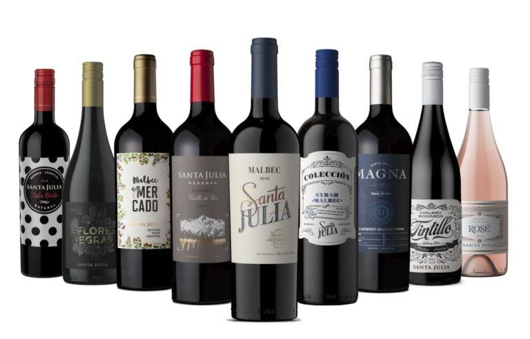Familia de vinos santa Julia