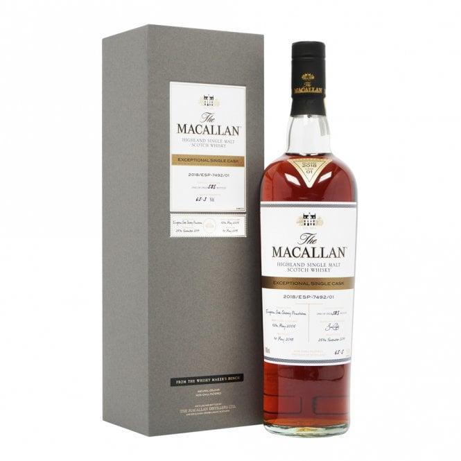 whisky macallan single cask 2018